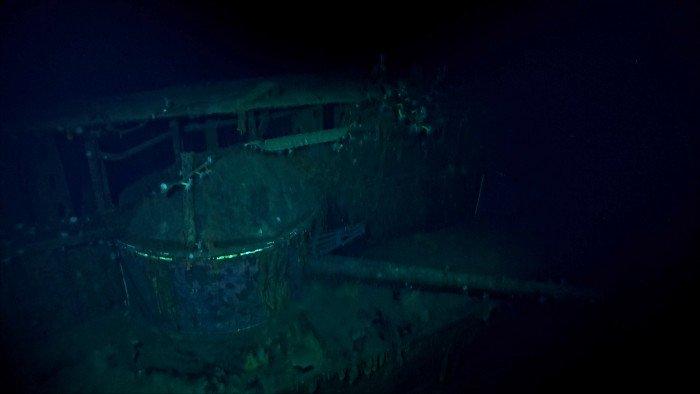 2000RT 旧日本海軍の空母「加賀」発見 故ポール・アレン氏の探索チームにより