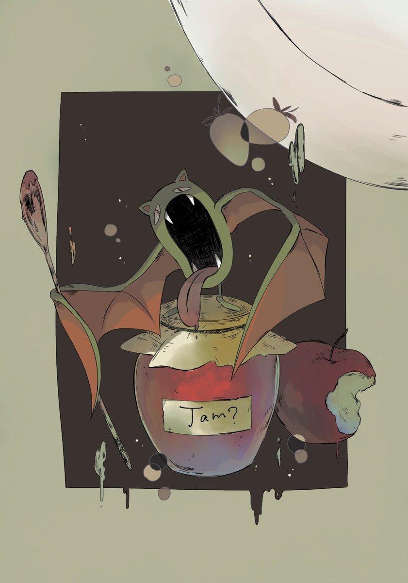 #禁断の毒林檎#ポケジャックさて、隠し味は?色違いゴルバットを担当させていただきました!