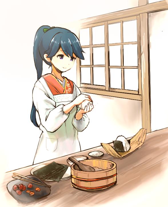 鳳翔さんが素手で握ったおにぎり食べたい