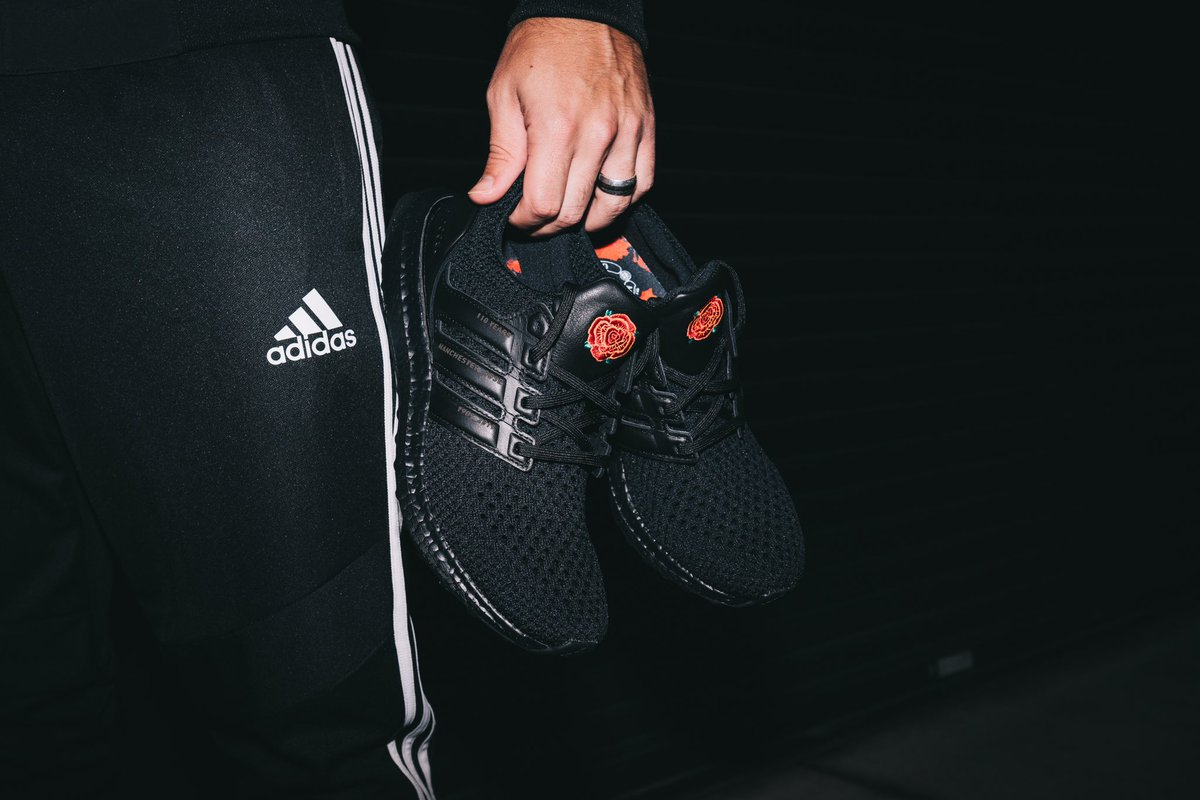 Soccer Com On Twitter Mufc Faithful Will You Accept This Introducing The Manutd Adidas Ultraboost Featuring Subtle Details Celebrating The Club S 110 Year Anniversary And A Dazzling Insole Inscribed With The United