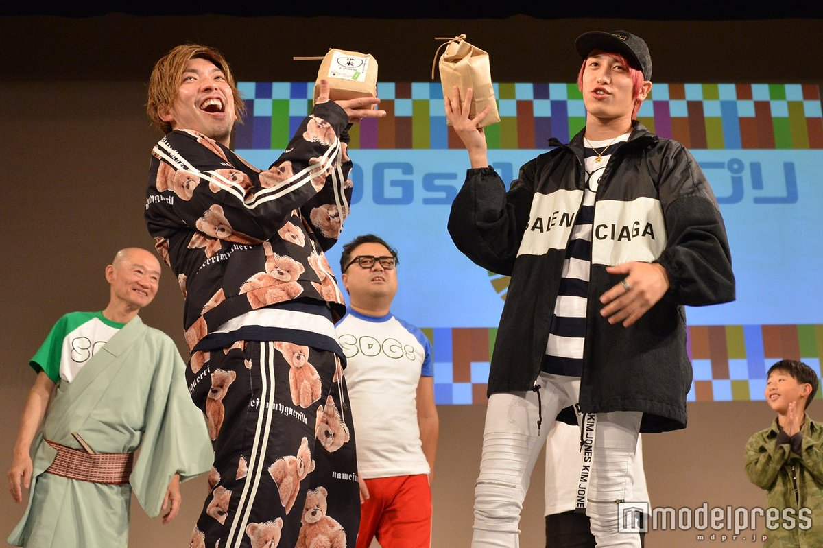 @rinnxofficial @kanechi_monster @kiff_official 【写真追加】#EXIT 「SDGs-1グランプリ」で優勝🏆✨✨赤ちゃんも「いぐじぃっと」「かねちぃ」「りんさま」とうっとり👶💕🔻フォトギャラリー#京都国際映画祭 @rinnxofficial @kanechi_monster @kiff_official