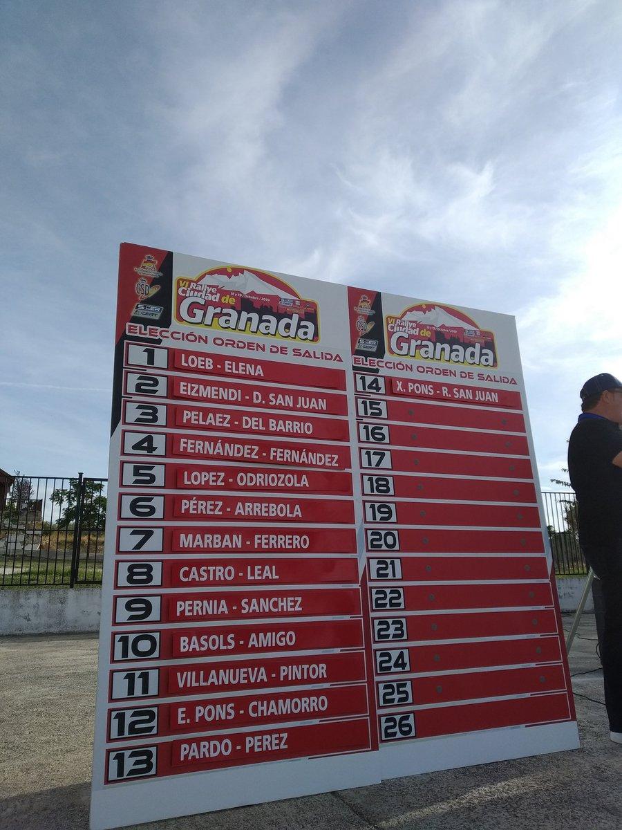 SCER + CERT: VI Rallye Ciudad de Granada [18-19 Octubre] - Página 2 EHK9rjhWsAA2s9J