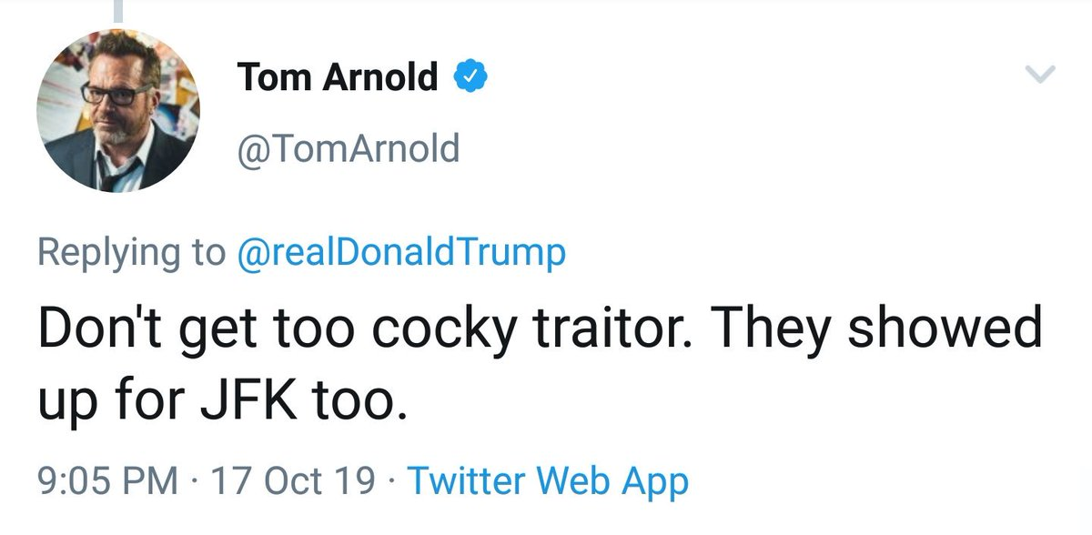 Tom Arnold, for reference.