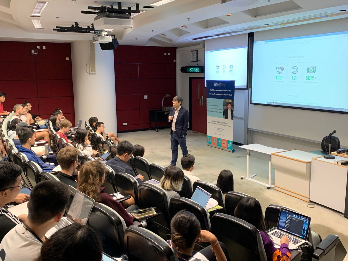 Our Founder & CEO, Mr. Wilson Yuen shared about successful #entrepreneurship with #HKUST students!  =================== TFI x Alibaba Cloud Seminar (RSVP Now): https://t.co/SbKssBDlxU About #TFI #天開: https://t.co/k2ua6gSs6d #tfidm #live #videotechnology #seminar https://t.co/GB5JMRySTG