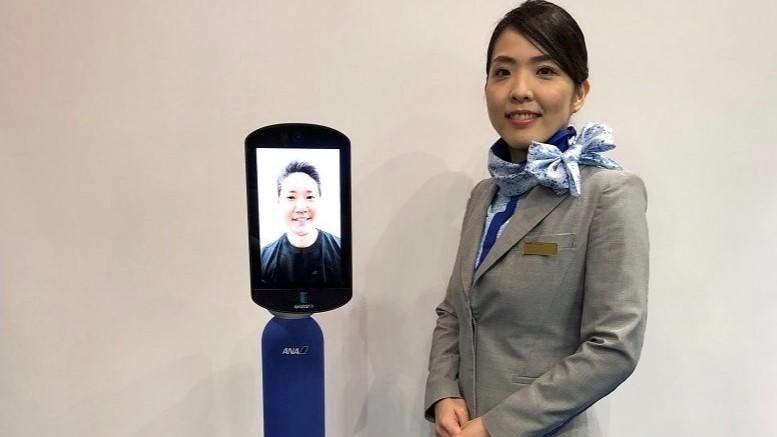 Japon : Une compagnie aérienne imagine un robot pour sortir… sans bouger de chez soi