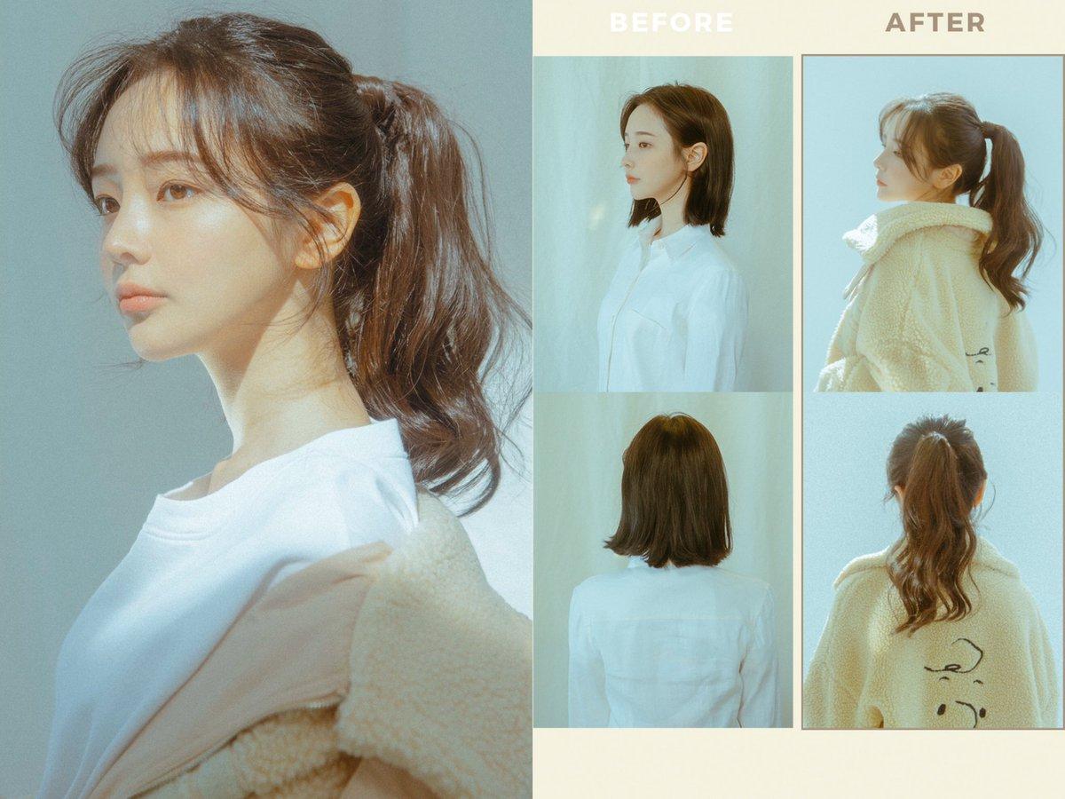 """ロングにするならエクステとしか考えたことなかったんだけど、韓国の通販サイト""""PINK AGE""""さんのウィッグは「クオリティ高い」と評価が良いからすごく気になる…モデルさんが綺麗すぎて見てるだけでも楽しい"""