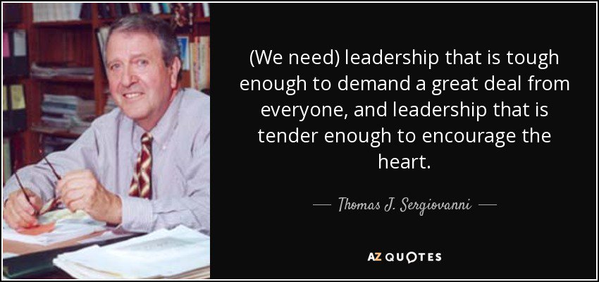 School Leadership...something to think about.