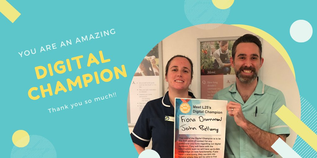 @DitLeeds wants to thank Jonh Bellamy, #DigitalChampion from #L25 @LTHTNEURO, for the great work he is doing in encouraging his colleagues to use #PPM+ #mobile app. In the last 2 weeks, the amazing 85% of the #eObs has been recorded through #PPM+ #Mobile #from10to85 #welldone
