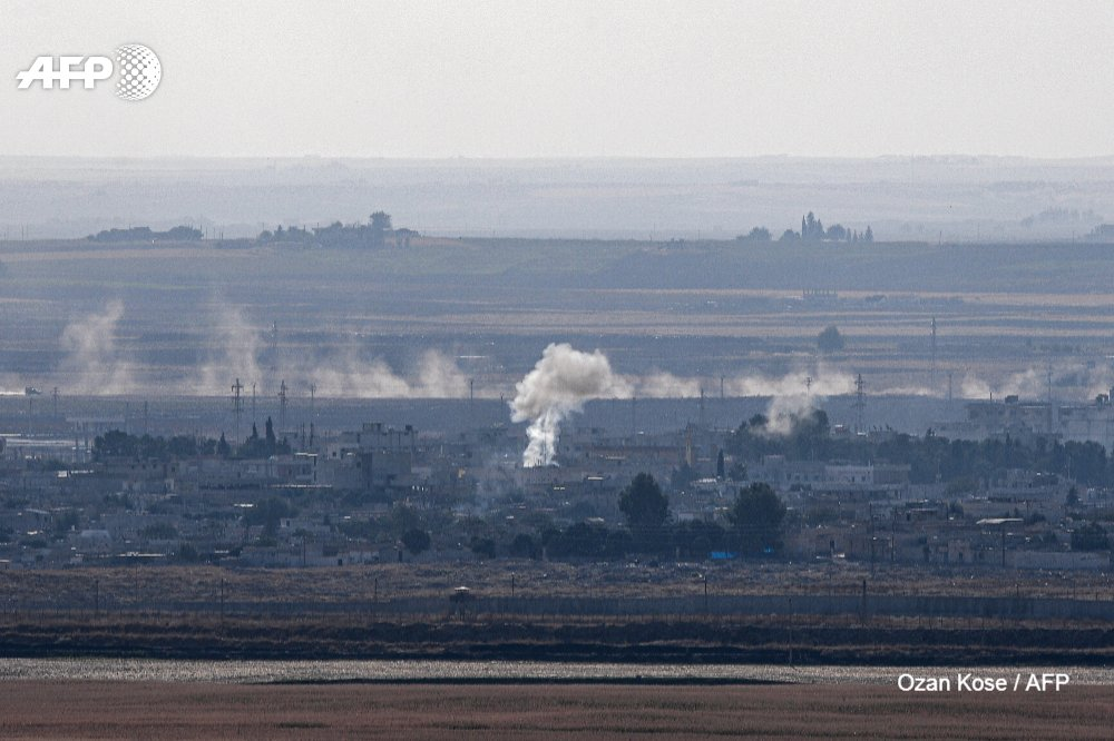 #UPDATE Deadly Turkish air strikes on Friday shattered an hours-old US-brokered deal to stop Ankara's military offensive against Kurdish forces in northeastern Syria  #RasAlAin