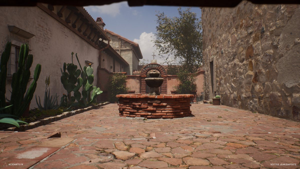 Real Life Inferno Counter Strike map in UE4 made with Megascans & Mixer. @quixeltools @UnrealEngine #ue4 #megascans #mixer #quixel #csgo #CounterStrikeGlobalOffensive #css #environment #game #unrealpic.twitter.com/EjKFMotpzA