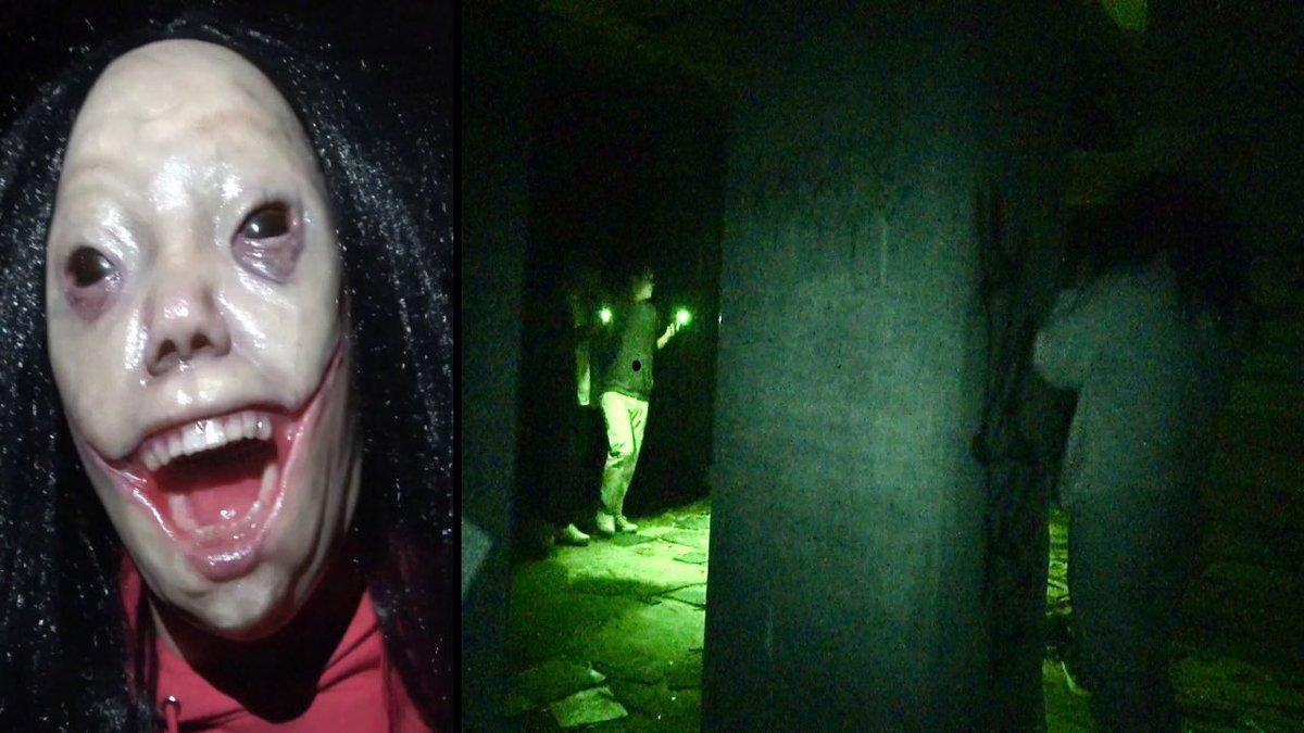 今日の動画は数十万のマスクで心霊スポットに来たガキ泣かしてみた【ドッキリ】ただでさえ怖い場所に最恐のやばいマスクが!