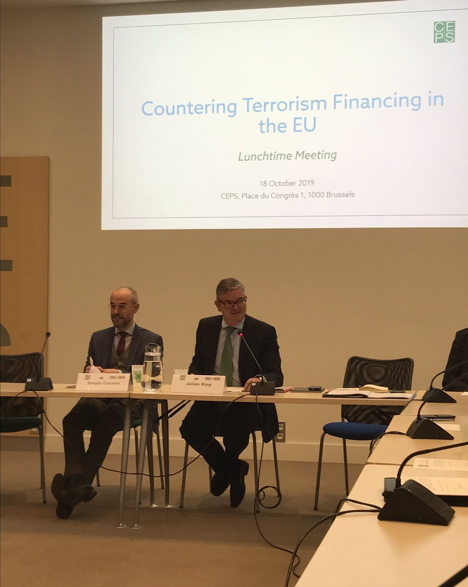 @JKingEU: An EU Terrorist Finance Tracking System (#TFTS) would complement the existing EU-US #TFTP and help close existing gaps, i.e. covering the single European payments area not covered by TFTP @CEPS_thinktank @KreabEU