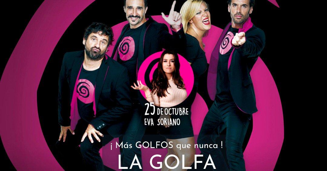 🌀SOLO QUEDA 1 SEMANING 🌀  VIERNES 25 OCTUBRE @TMaravillas #Madrid - 23h  #LGOLFA con @EvaSoriano90 como invitading  Entradings 👉🏻http://ow.ly/6Wuw50wBsQF  #teatro #improvisación #música #comedia #comedy #cómicas #Malasaña