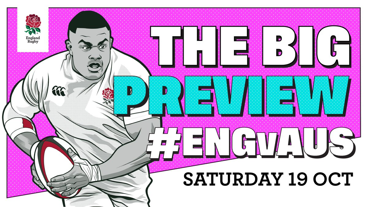 test Twitter Media - Stats  Line-ups  Head-to-heads  Here's your complete guide to tomorrow's @rugbyworldcup quarter final against Australia: https://t.co/bCCJtA7KMX   #ENGvAUS #CarryThemHome https://t.co/Y5A25GT3Vn