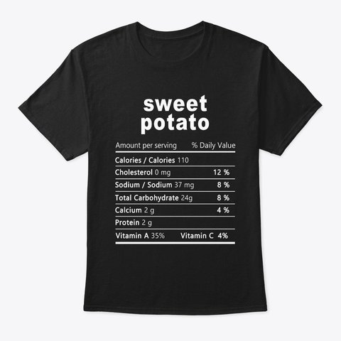 Sweet Potato Funny Christmas Food Nutrition Facts Shirt  Get yours here: https://teespring.com/sweet-potato-food-nutrition…  #sweetpotato #foodlover #lovefood #nutrition #nutritionfacts #potato #lovepotato #potatoshirt #potatolover #nutritionlover #nutritionshirt #giftforcooker #cooking #christmasgif