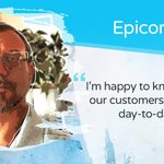 """As a Principal Software Developer, I've worked on thousands of lines of code. I've worked at Epicor for over 26 years, I've seen the company evolve and grow. I continue to learn new things every day and I really enjoy getting to work on these emerging technologies."" #EpicorStory"
