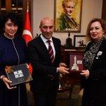 Image for the Tweet beginning: Bugün KKTC Başbakanı Ersin Tatar'ın