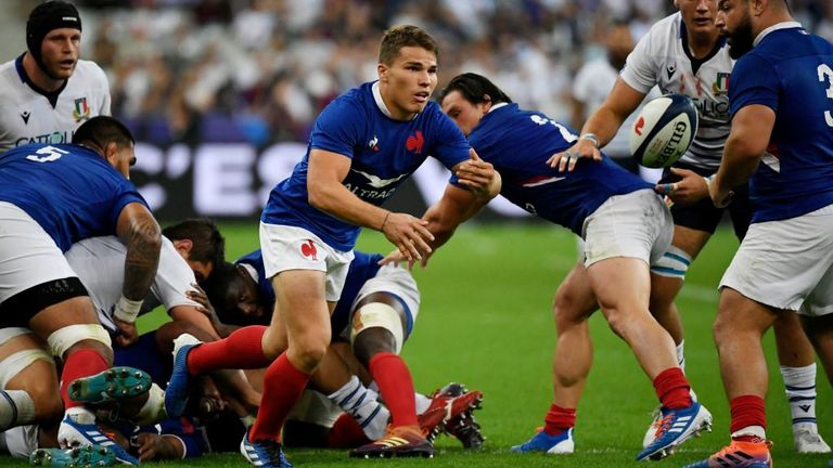 test Twitter Media - 🇫🇷 Good news for France as Antoine Dupont 📸 and Damian Penaud are passed fit for Sunday's #RWC2019 quarter-final.  👉 https://t.co/dPmdbnuP15 #WALvFRA https://t.co/hXI9BUXudT