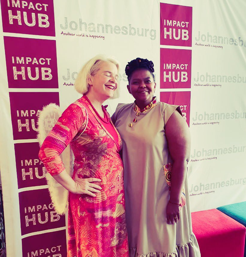 Our speakers at this week's #hubhustle shared #selfcare and #wellbeing advice with our #entrepreneurs. There is one more edition of #thehubhustle on 6 November starting at 11am and it will be all about pricing! Get your FREE tickets by signing up at http://impacthubjoburg.community/flowing pic.twitter.com/439iW9apI0
