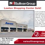 Image for the Tweet beginning: #SOLD #Lawton #CRE #NAISullivanGroup #Retail