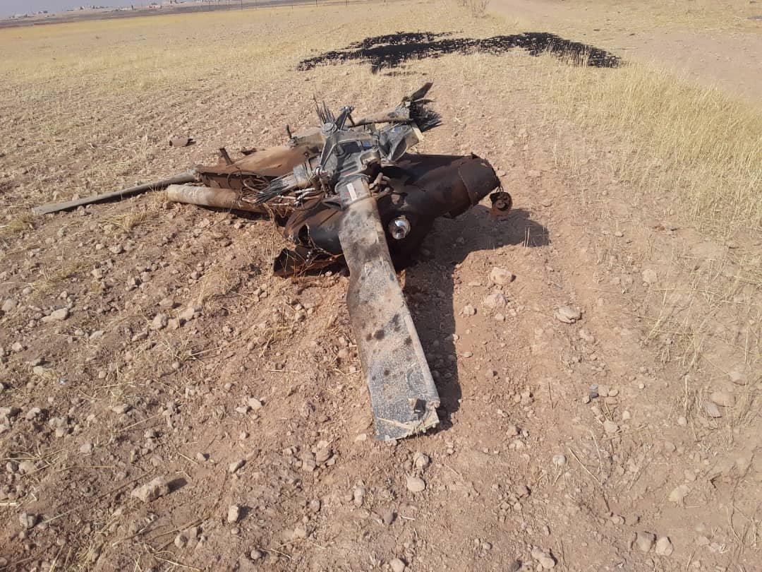 سانا: سقوط مروحية عسكرية تركية داخل الأراضي السورية EHKl-YOXUAAvOR1