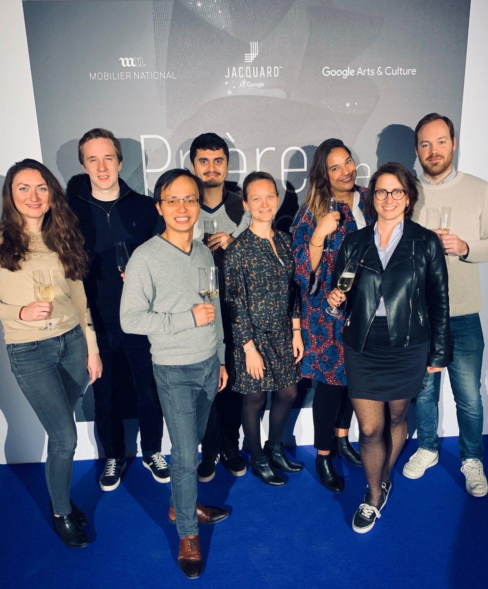 """test Twitter Media - Nos équipes #SEA étaient invités cette semaine à la première résidence d'artistes Jacquard by @GoogleFR pour son exposition """"Prière de toucher le fil"""", célébrant la rencontre de savoir-faire ancestraux et de l'innovation technologique de pointe https://t.co/Aph5nyR0KZ https://t.co/fyADoAb6DD"""