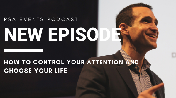 Hear from the man who wrote the book on how to get us hooked on our devices and everything we put on them - @nireyal shares insights into how to regain control of your attention and spend more time doing the things you intend to in the latest #RSApodcast! http://bit.ly/35L5shn