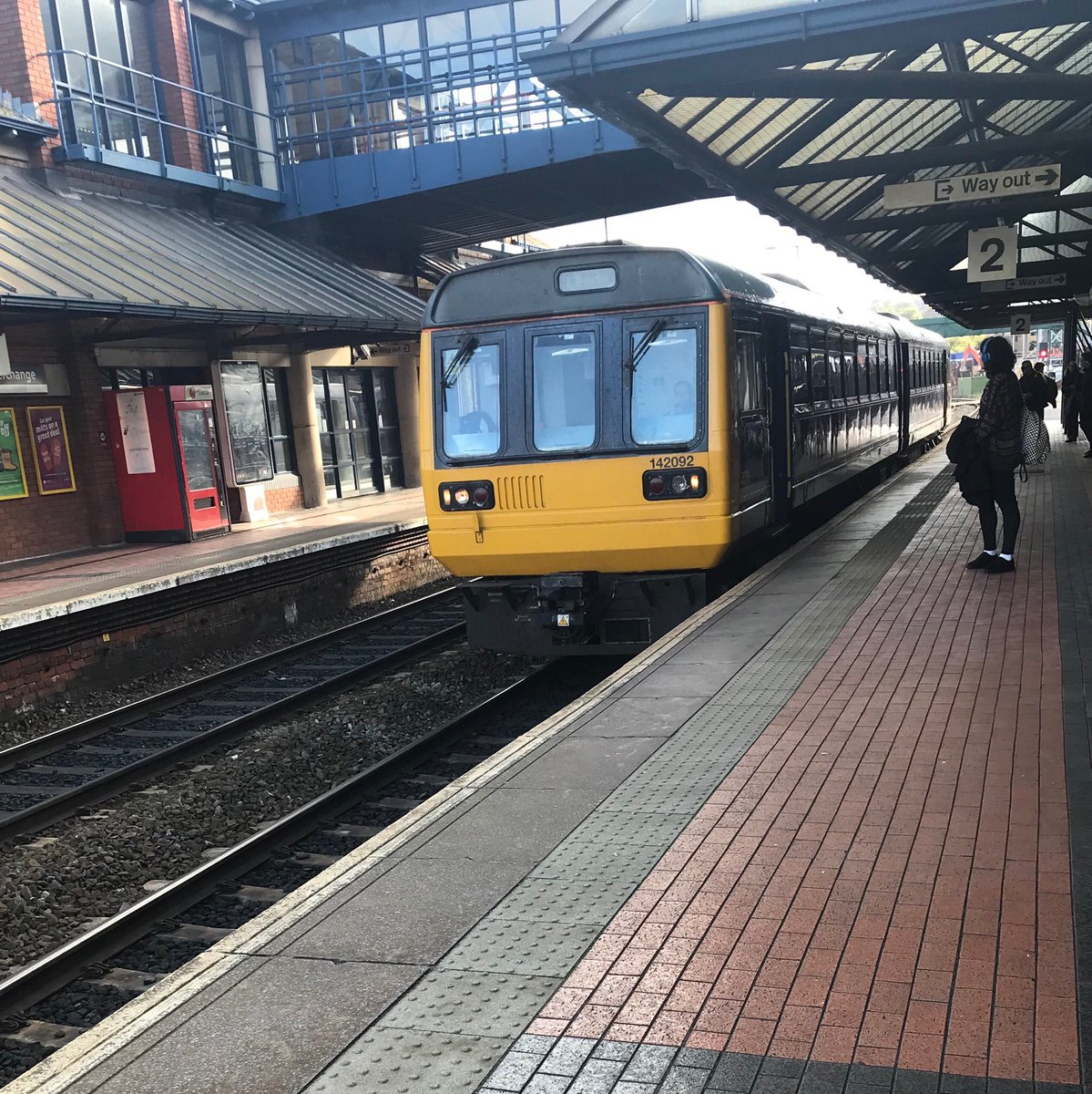 Bouncing home on a pacer railbus... #thenorth