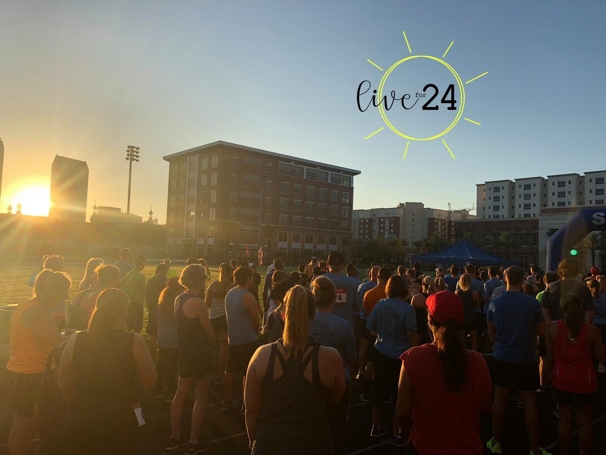 Join us for good vibes + a great cause at the @Live_for_24 5K & Relay this weekend! 🏃♀️ Proceeds benefit the #Livefor24 Foundation fund & we'll be fueling runners w/ #organic treats! https://t.co/SHBAxurNVE #GoodFoodVibesTampa #Tampa #cascadianfarm https://t.co/miyjUOB7br