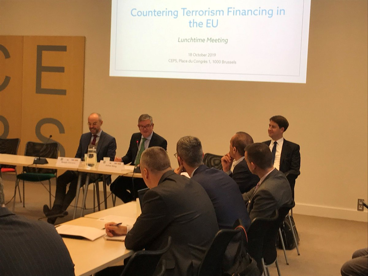 At @CEPS_thinktank today: what more we need to do to combat terrorist financing, which remains a significant challenge. Link to the speech: ec.europa.eu/commission/com…