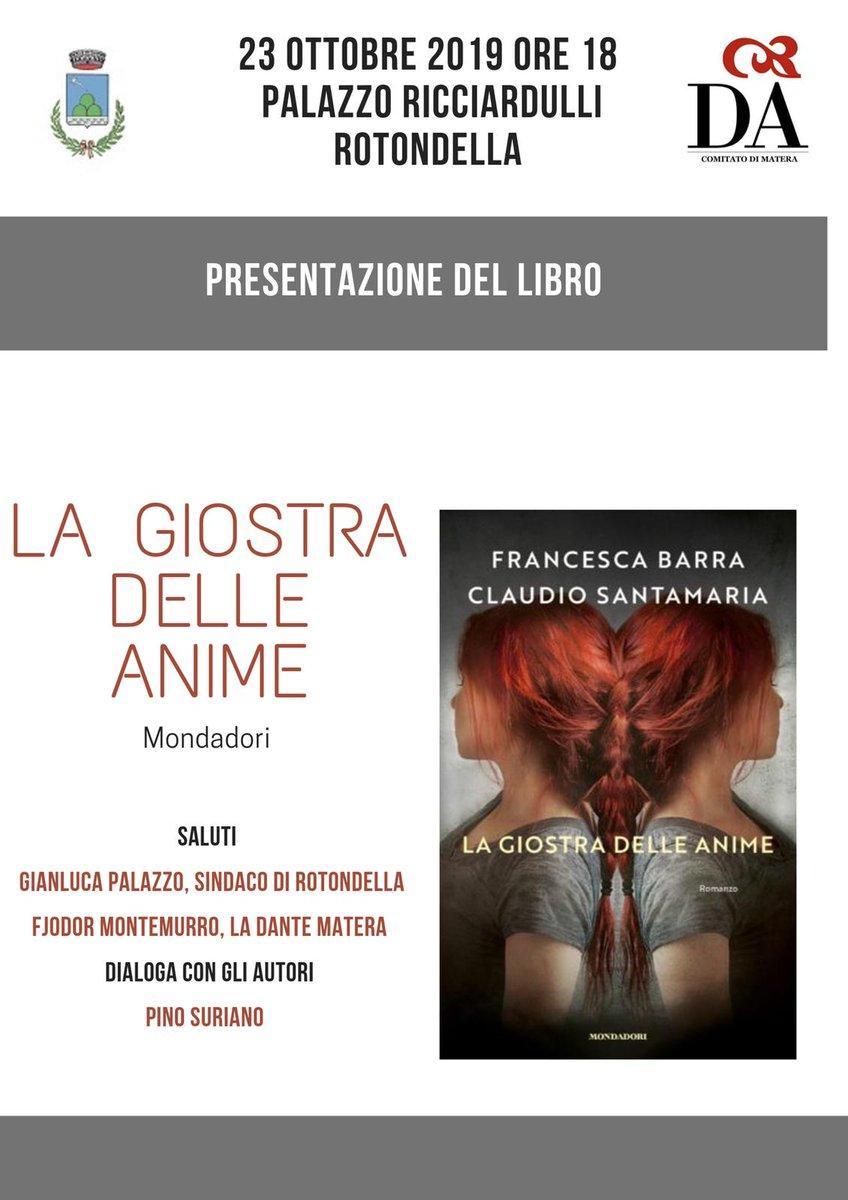 Vi aspettiamo a #Rotondella con @francescabarra @C...