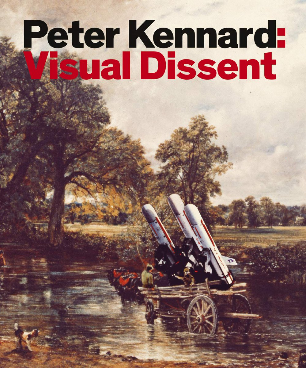 FREE exhibition until Oct 31st @peterkennardx: Visual Dissent The Gallery at Foyles, Level 5, 107 Charing Cross Road, London. Daily 9.00am-9.00pm (Sundays 11.30am-6.00pm). of work from new book Peter Kennard: Visual Dissent, @PlutoPress @CNDuk @STWuk signed copies at Foyles