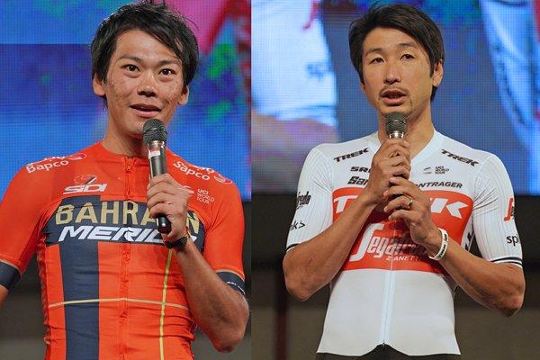 宇都宮を舞台にしたジャパンカップサイクルロードレースが開幕。10月18日夜には市中心部のオリオンスクエアで出場チームによるプレゼンテーションが開催され、国内外合わせて22チームが集結し、それぞれレースへの意気込みを語りました。
