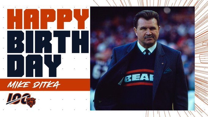 Happy Birthday DA Coach Mike Ditka !!