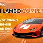 Image for the Tweet beginning: Win a stunning, #Lamborghini Huracan