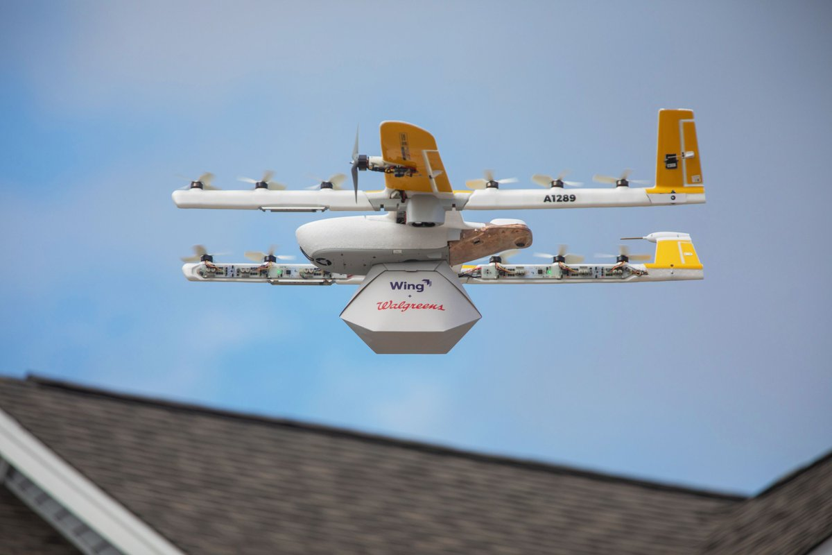 Wing's delivery drones take flight for the first time in Virginia