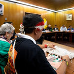 Image for the Tweet beginning: Synod groups propose Amazonian rite,