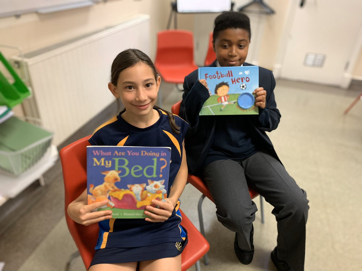Well done Victoria & Daniel for reading to your classmates today. Great book choices and fabulous storytelling. <br>http://pic.twitter.com/3j4iG2NDGL