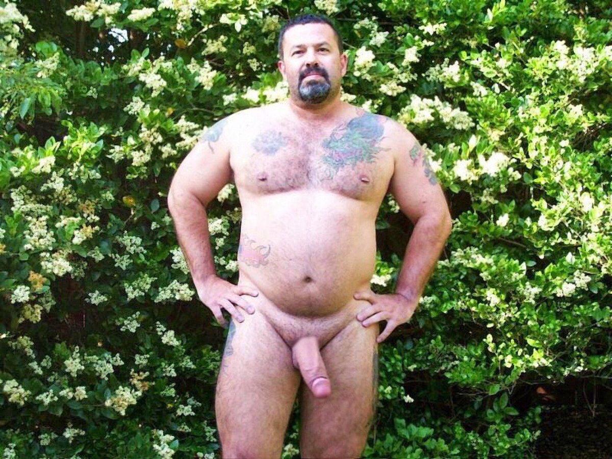 Morbidly obese men naked