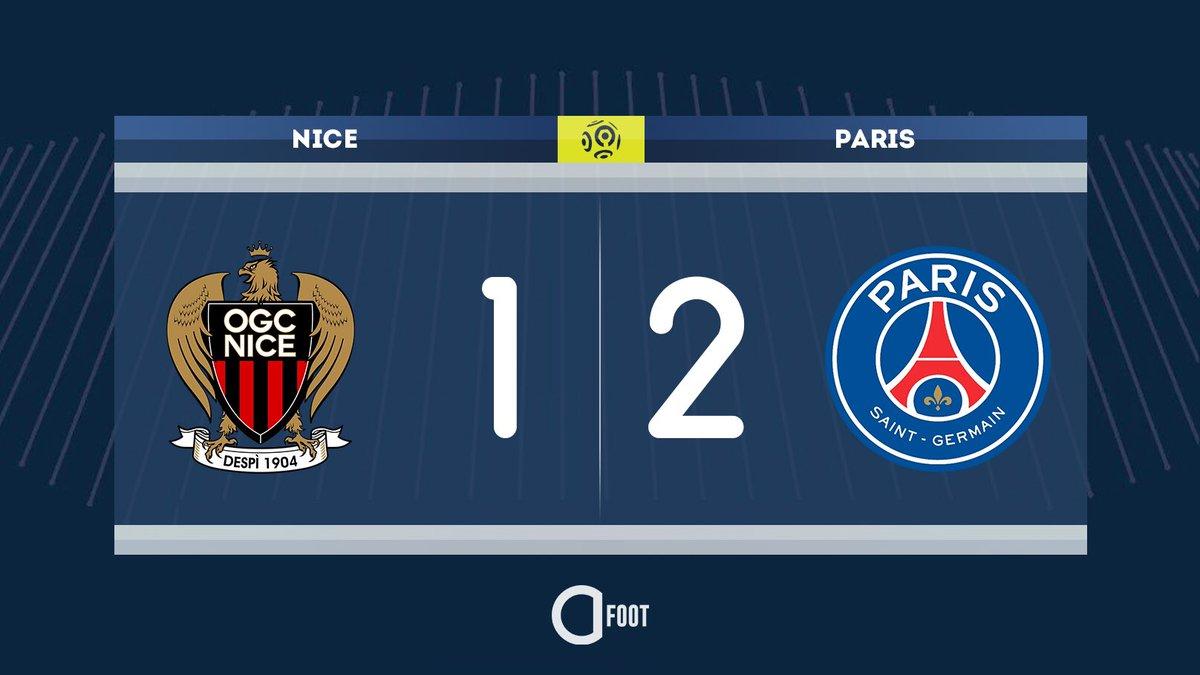 ⚽️ BUUUUUUUUUTT DE GANAGO !!! NICE 1-2 PARIS