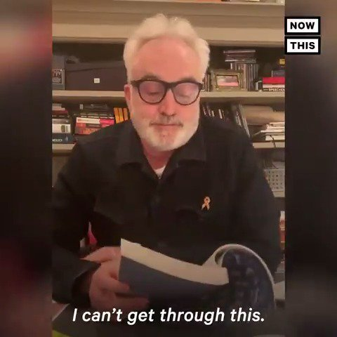 'This is a story of profound inspiration, and a call to action … it's one of the most powerful books I've ever read.' —Watch @BradleyWhitford hold back tears as he reads @AdyBarkan's memoir
