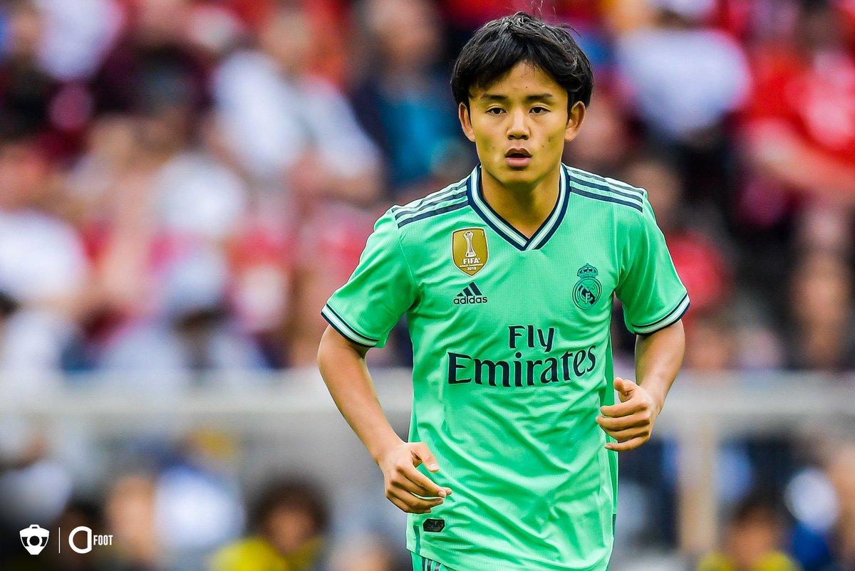 Takefusa Kubo : « Mon idole, ça a toujours été Messi. Je trouve ça incroyable qu'il soit encore capable de marquer autant de buts. » (@marca)