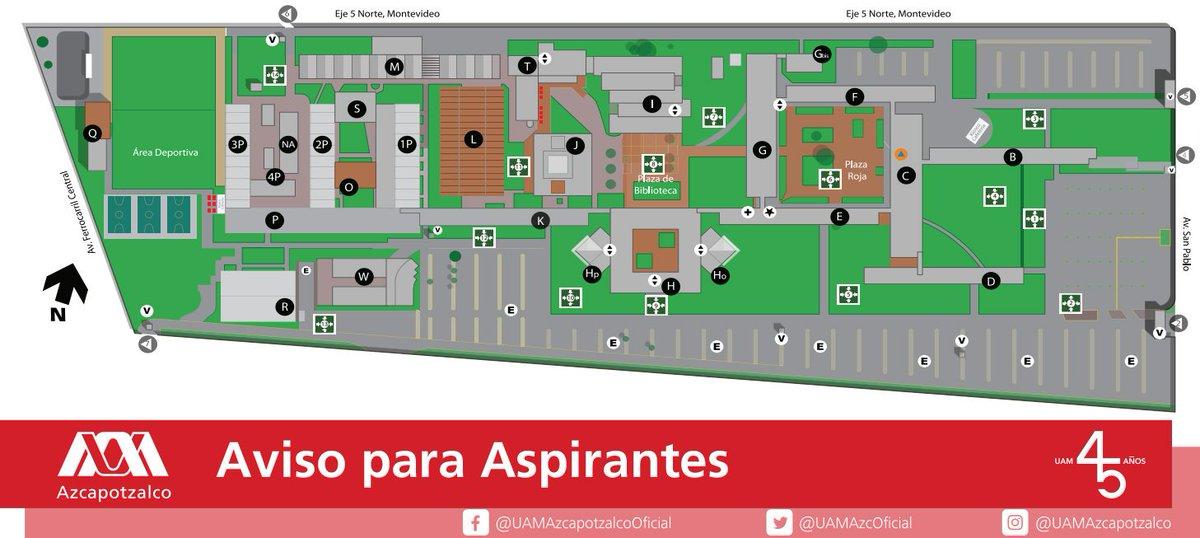 Uam Azcapotzalco On Twitter Aviso Para Que Las Y Los Aspirantes