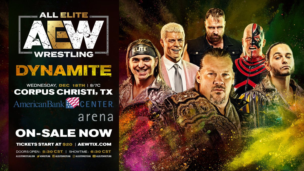 @AEWrestling's photo on ON SALE NOW