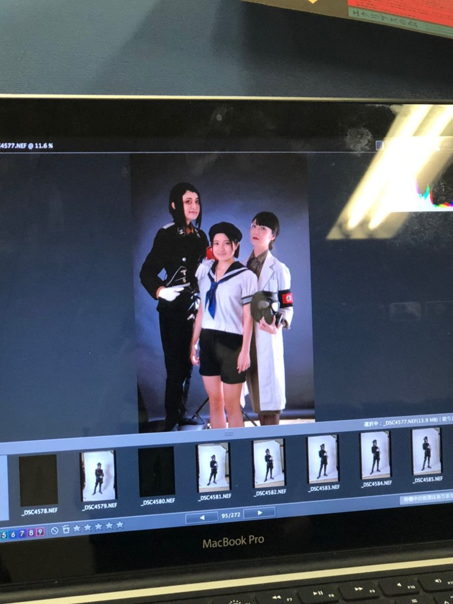 稽古場レポート*【パンフレット撮影】 ー アメブロを更新しました#月蝕歌劇団