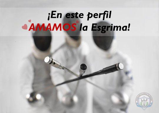 En este perfil AMAMOS la Esgrima ¡SI QUE SI! feliz fin de semana, se acercan los Juegos Deportivos Nacionales.#Esgrima #Fencing #FencingLove pic.twitter.com/hEnbXHyGVZ