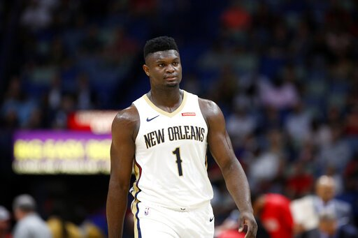 Pelicans rookie Zion Williamson will reportedly miss the start of the regular season with a knee injury. Zion had 3 games this preseason with at least 20 Pts and 70% FG, joining Chris Paul and Shaquille ONeal as the only players to reach such marks in the past 20 years.