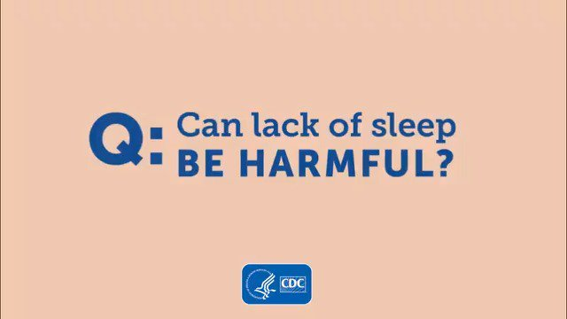 Image for the Tweet beginning: #DYK? Lack of sleep can