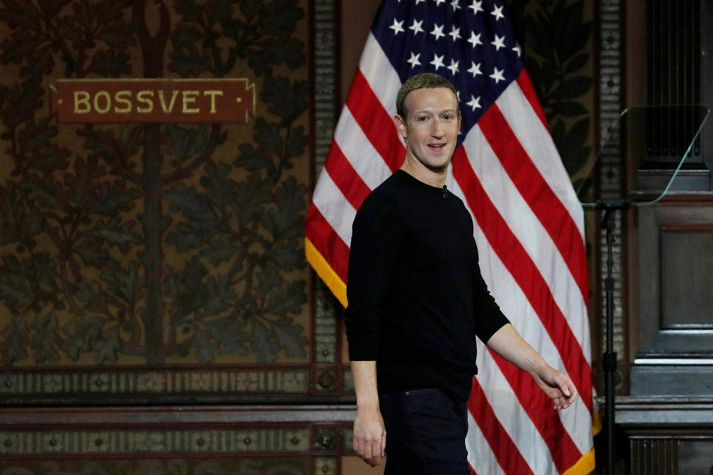Zuckerberg defends Facebook's approach to free speech, draws line on China