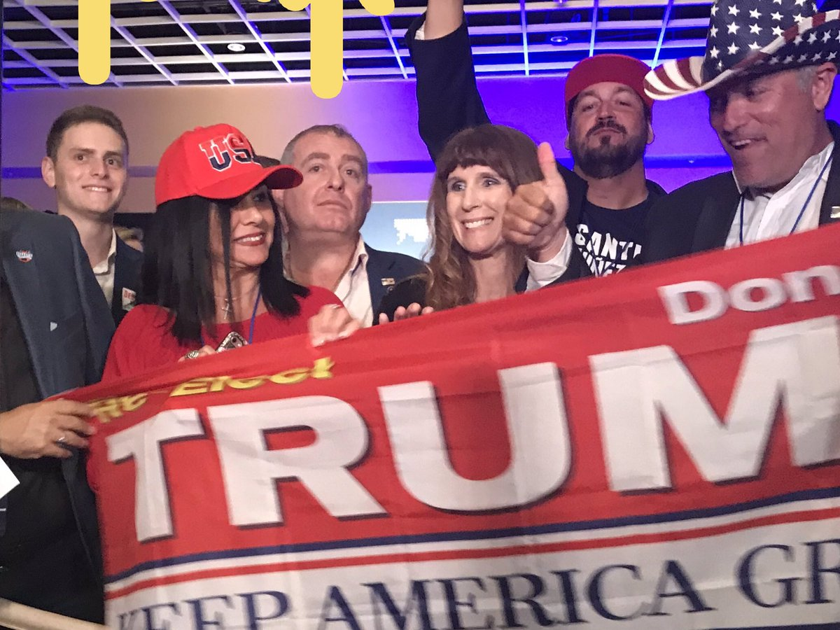 Rudy #Giuliani's Soviet-born #Ukraine henchmen Lev Parnas and son Aaron Parnas  — accused of funneling #Russian 💰 cash into @GOP and #Trump's campaign, attended a Trump rally.‼️  #TrumpRussia #ImpeachTrump